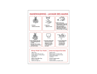 Covid-19 Hand Wash Poster